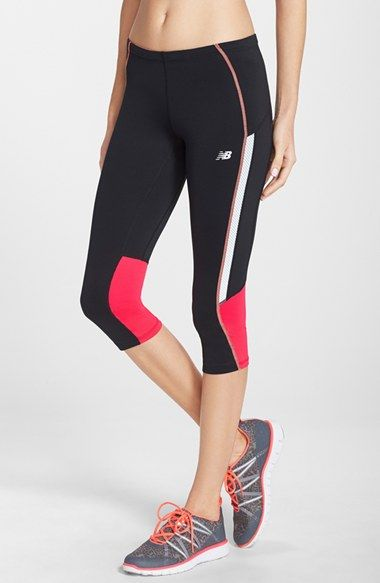0df1a8db8daf4 New Balance 'Impact' Capri Leggings available at #Nordstrom | coral ...