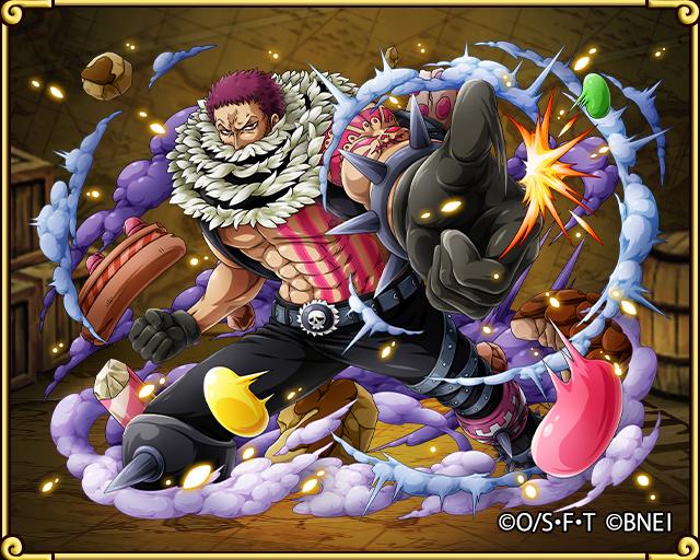 charlotte katakuri stiff fruit ability one piece treasure cruise treckle strongest strategy database ワンピースルフィ トレクル 海賊