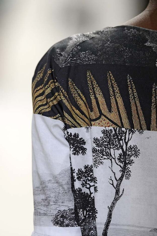 I adore & covet Dries Van Noten for his silhouettes & patchwork print detail. Pure heaven!