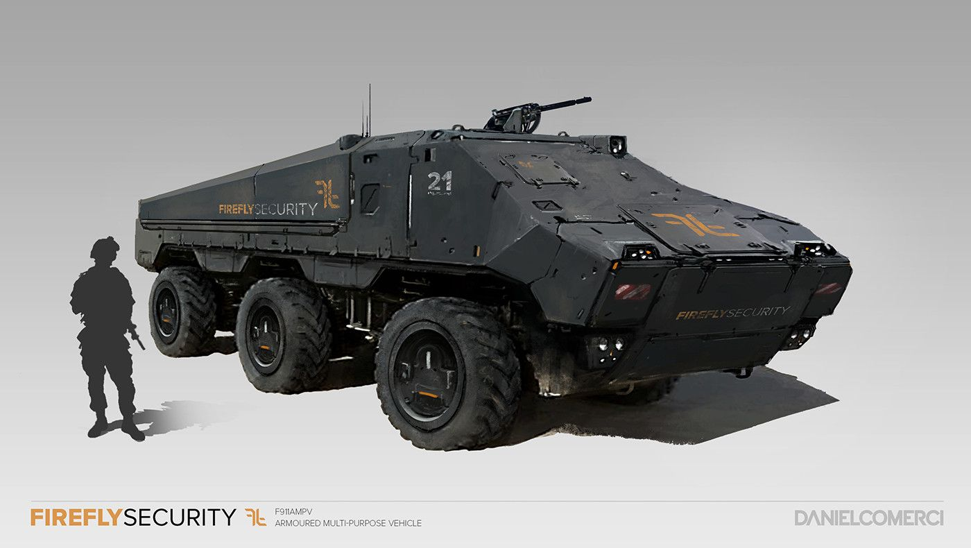 6x6 armored car concept - photo #37