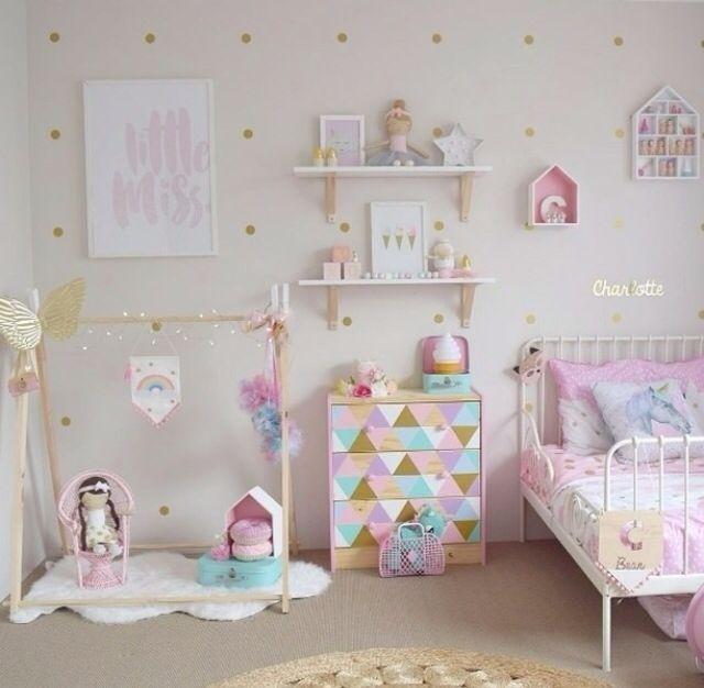 Dormitorio toddler bedroom girl pinterest dormitorio - Dormitorios bebe nina ...