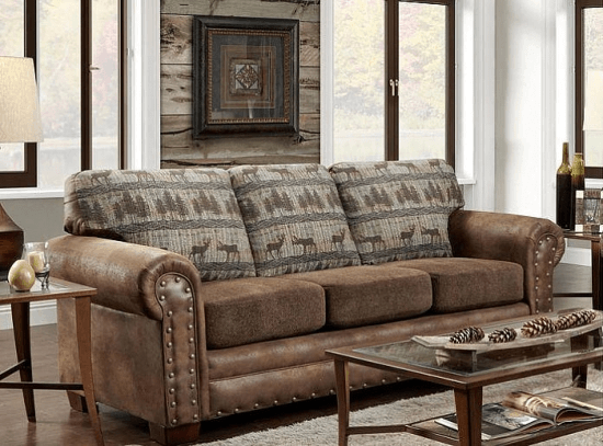 Tapestry Sofa Living Room Furniture Hollywood Thing Distressed Leather Sofa Furniture Home Furnishings