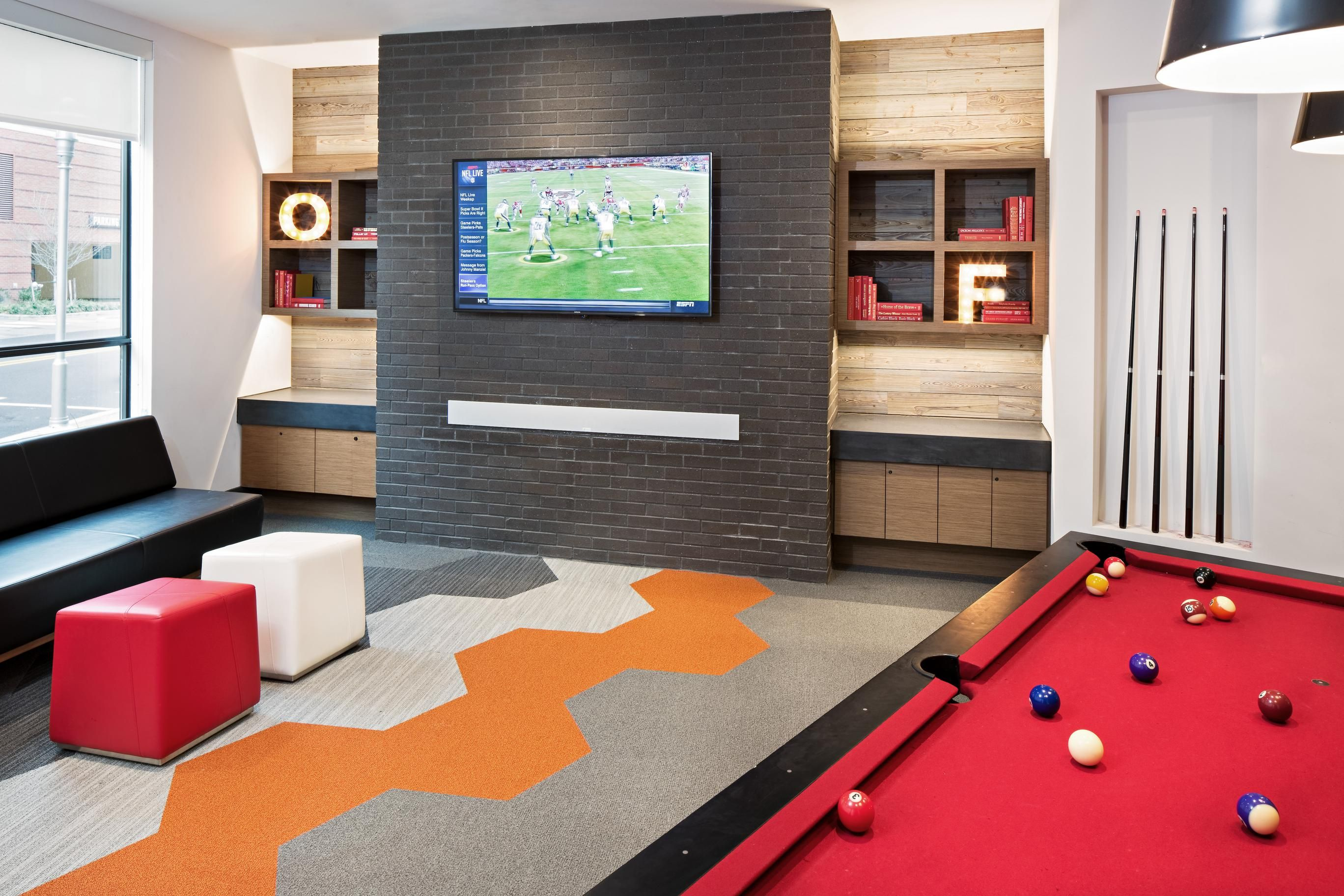 The Game Room Within Terrapin Row In College Park Md Apartment