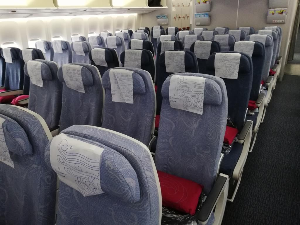 Air China 777 300 Economy Review in 2020 Air china