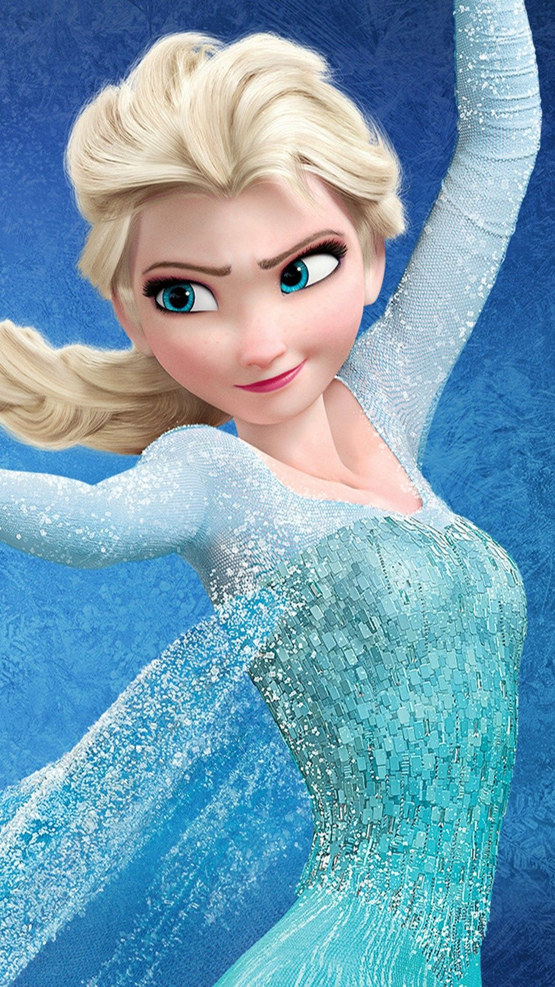 Glitter Elsa Princess Halloween Frozen IPhone 6 Plus Wallpaper