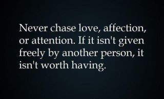 Love should be equal between two people all the time. Both ...