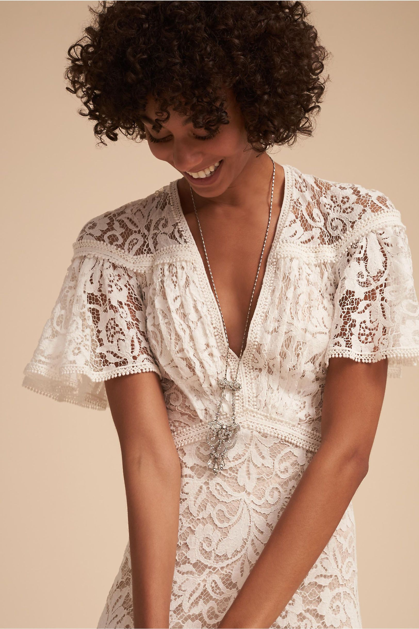 Lace dress for pregnant  Copeland Gown Ivory in Sale  BHLDN  Bhldn  Pinterest  Ivory and