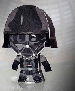 Dinky Darth Vader | Craft activities for kids, Craft ...