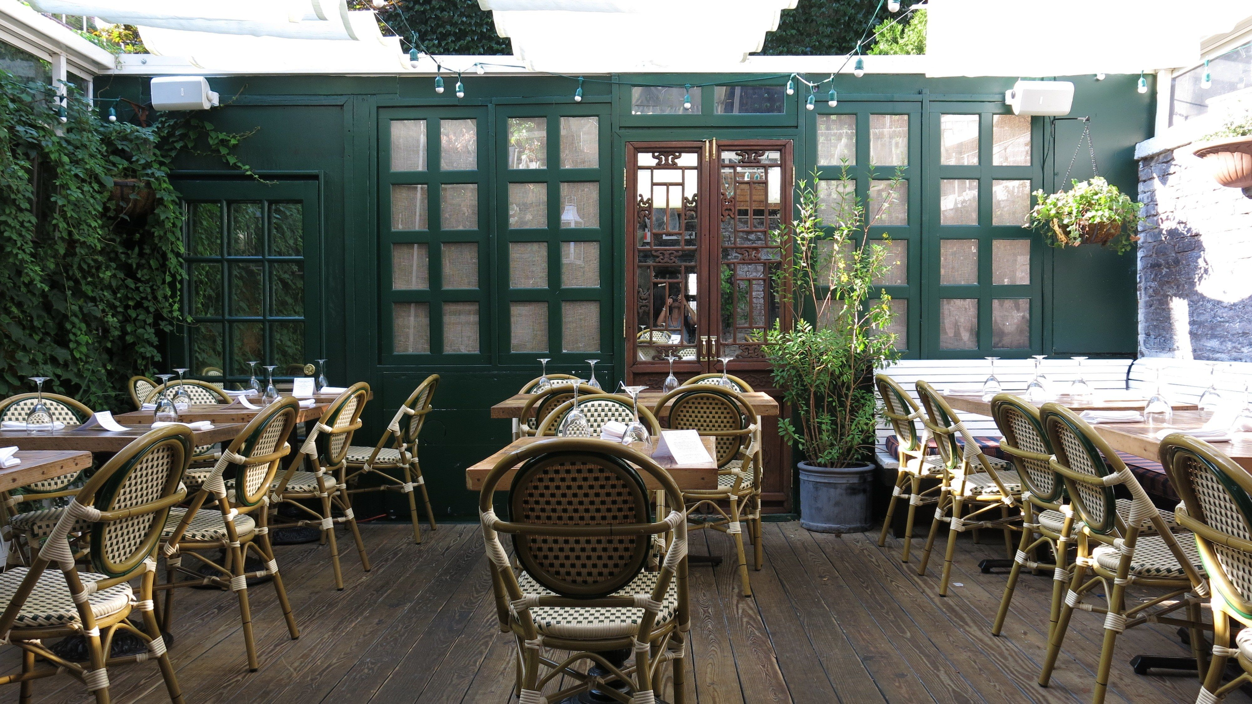 7 NYC Restaurants with Outdoor Dining Outdoor