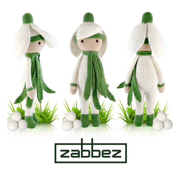 Snowdrop Sia - Amigurumi crochet pattern by Zabbez | Háčkované ...