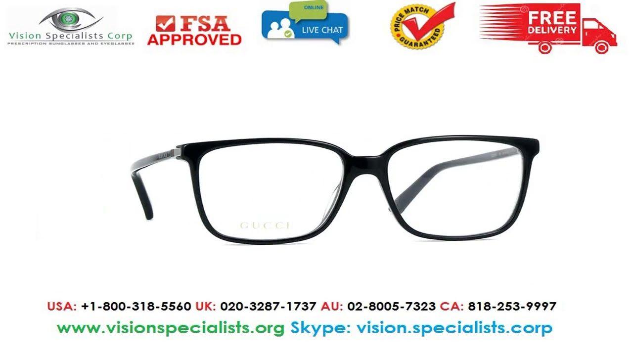 Gucci GG0019O 001 Glasses  77298144eaa