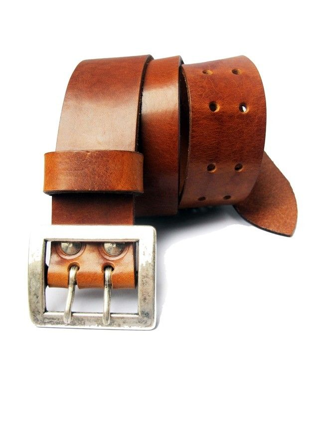 LEATHER BELT,HANDMADE £28.00 by cutme