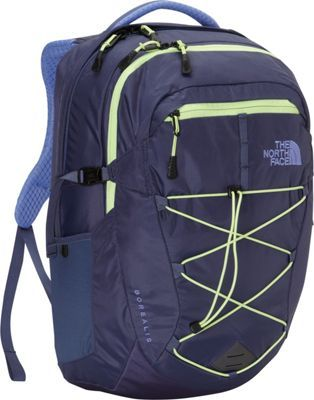09fe3f1bed The North Face Women's Borealis Laptop Backpack Crown Blue/Budding Green -  via eBags.com!