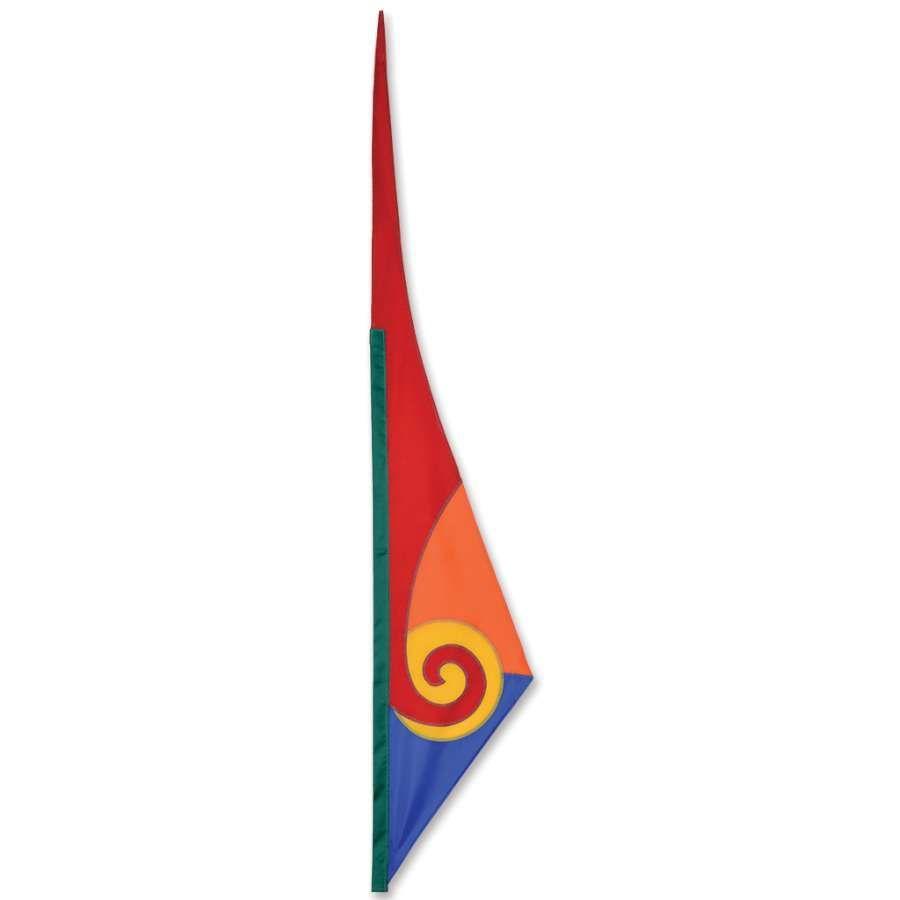 Soundwinds Spiral Flag In 2020 Shock Cord Spiral Wind Sock