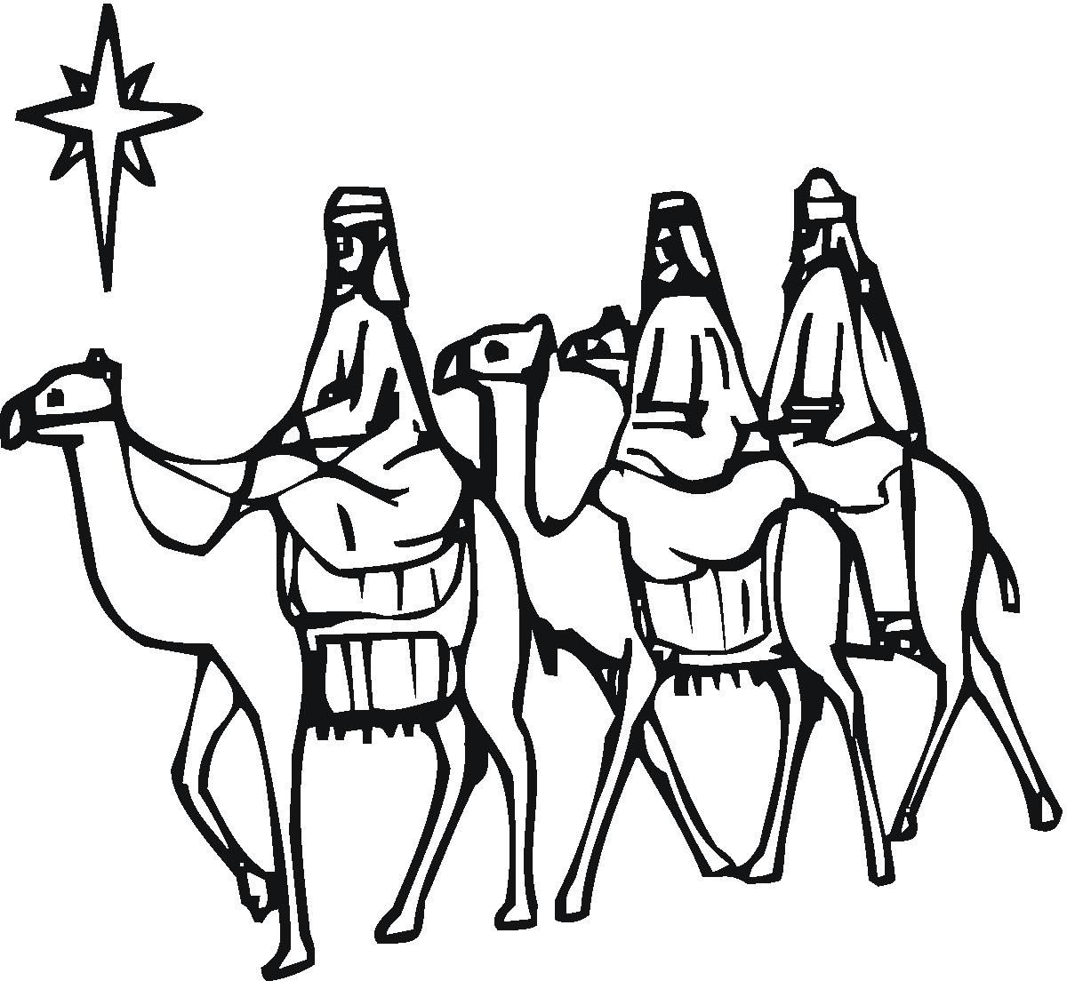 Christmas Wise Men Clipart