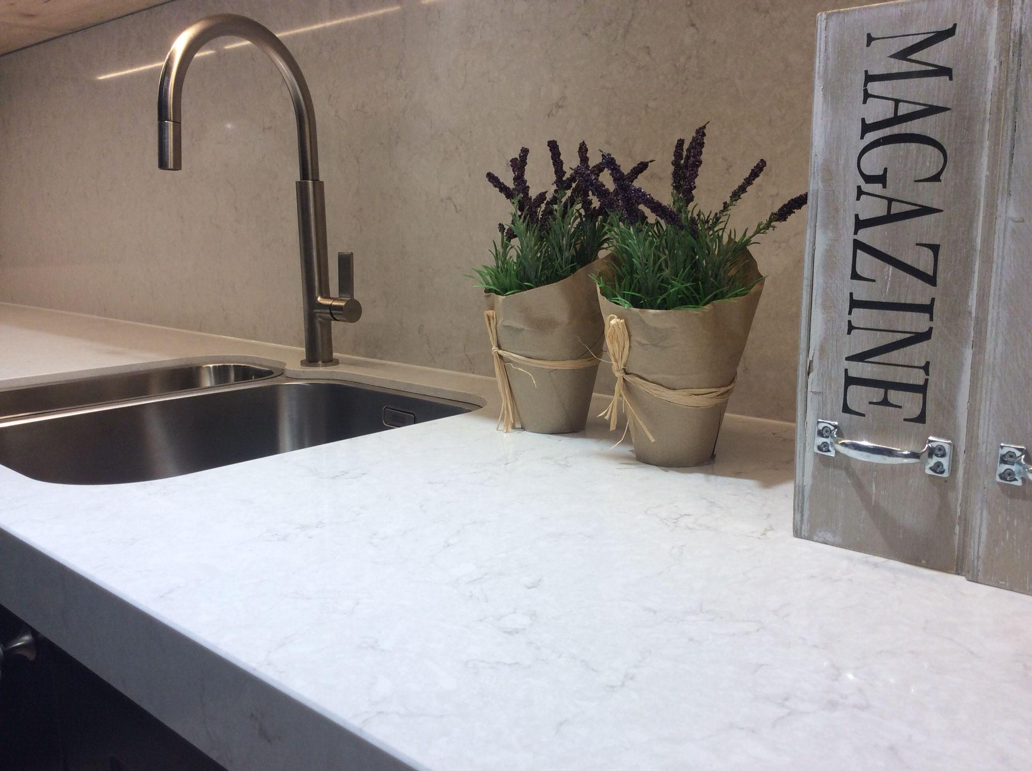 Silestone Snowy Ibiza Kitchen Suite Genk