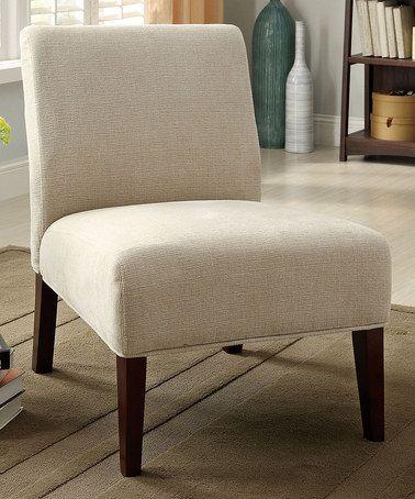 Awe Inspiring Loving This Ivory Limbo Accent Chair On Zulily Creativecarmelina Interior Chair Design Creativecarmelinacom