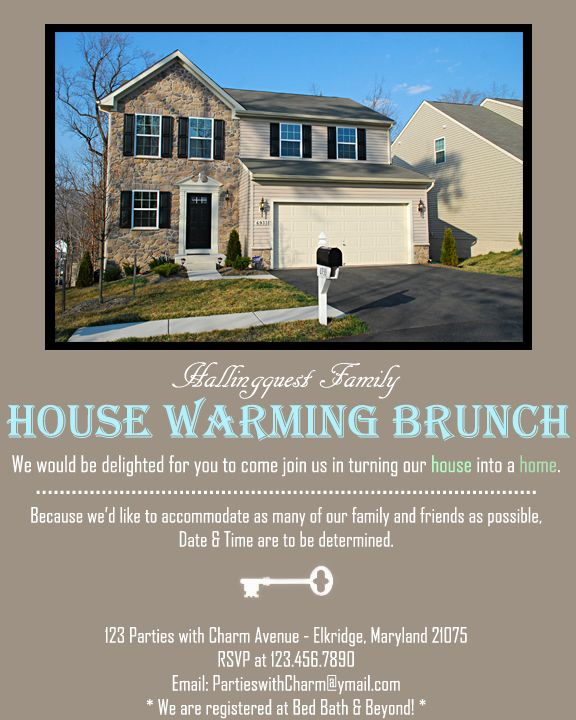 Pin By Parties With Charm Janaria H On Housewarming Party Brunch House Warming House Warming Invitations House Warming Gifts