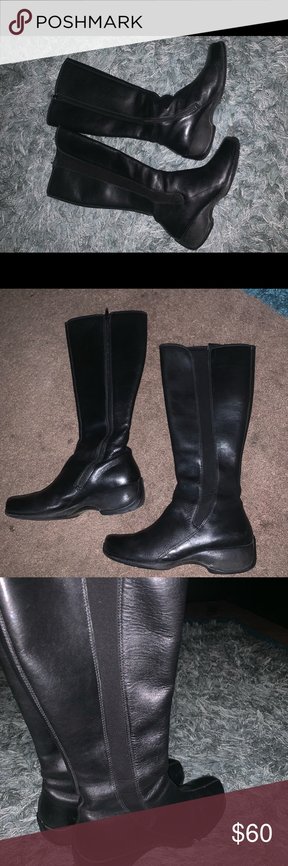 Merrill Leather Knee High Boots Knee High Leather Boots Boots High Boots