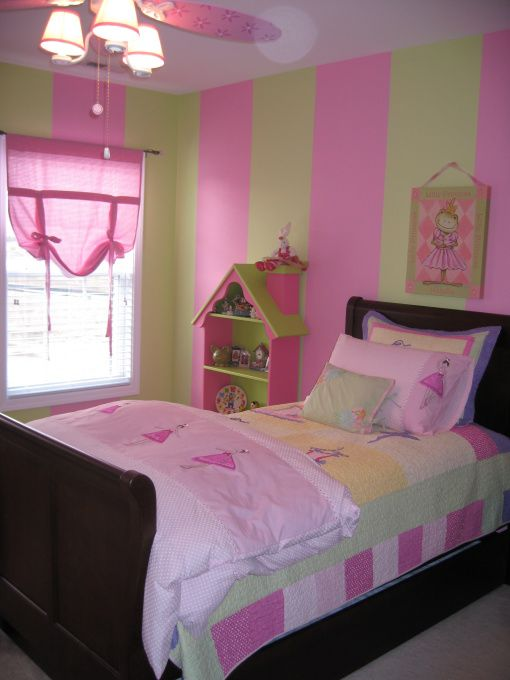 Pink Green Dancing Bedroom Girls Bedroom Paint Girls Bedroom Colors Girls Bedroom