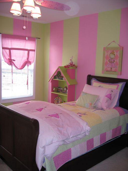 Pink Green Dancing Bedroom Girls Bedroom Paint Girls Bedroom Paint Colors Girls Bedroom