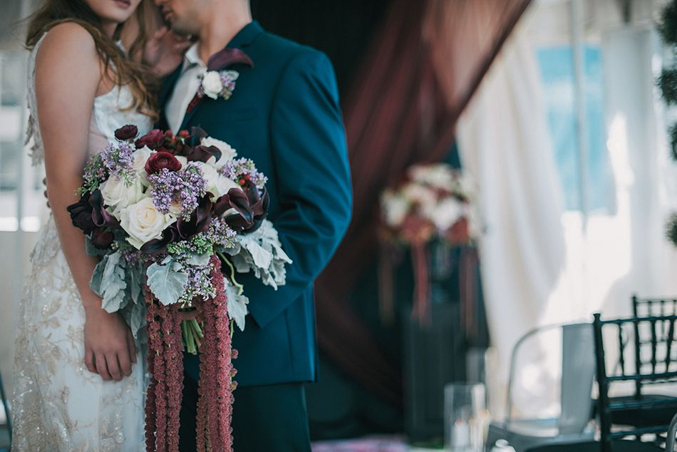 Dark Romance Styled Shoot Orlando Wedding Photographer Wedding