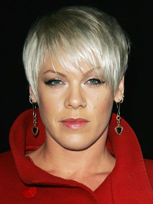 Fashion Short Hairstyle 2011 Pink Singer Hairstyles Pink Haircut Hair Styles