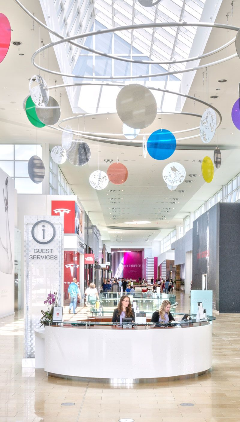 Concierge Kiosk Yorkdale Shopping Centre Southwest Expansion 2012 Shopping Mall Interior Shopping Center Retail Interior
