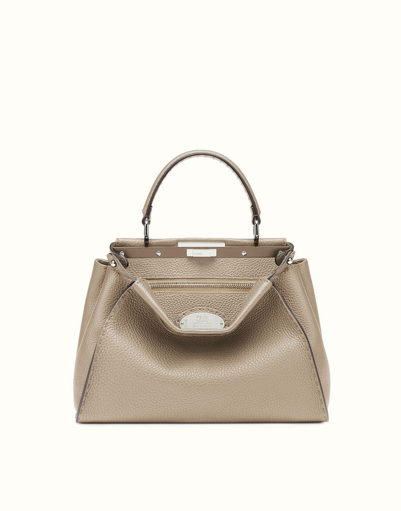 86e0b75d54 ... inexpensive fendi regular peekaboo beige selleria handbag 40f1e e082c  ...