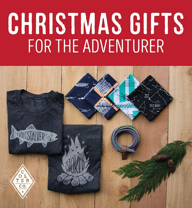 Outdoorsy Christmas gifts with style. Colter Co. carries unique ...