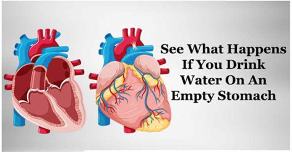Drinking Water On Empty Stomach Immediately After Waking