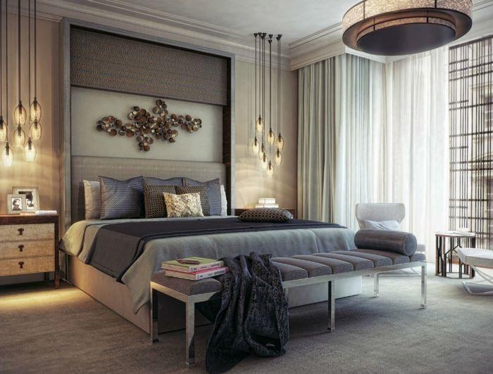 inneneinrichtung-ideen-akzent-über-dem-bett Master bedroom - inneneinrichtung