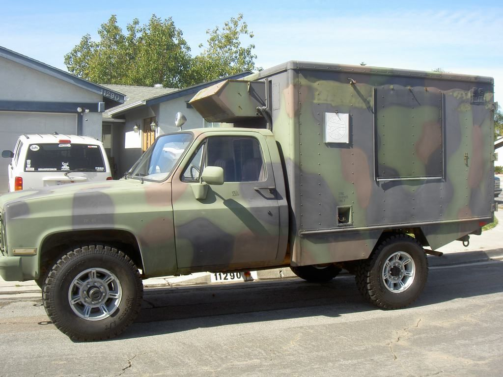 sold 84 chevy cucv m1010 4x4 ambulance for sale expedition portal [ 1024 x 768 Pixel ]
