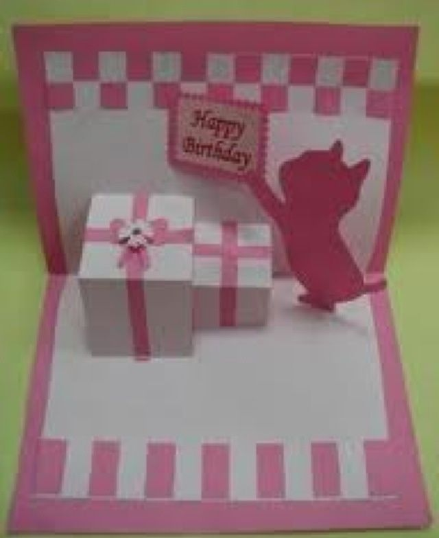 Very Cute Pop Up Card