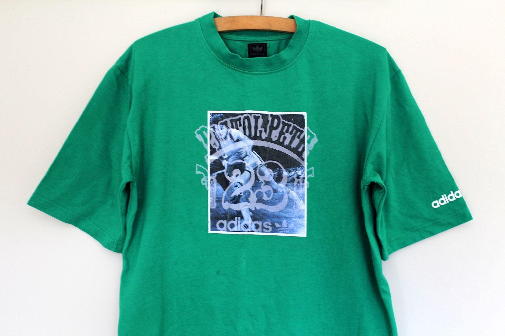 Vintage Trefoil Adidas Shirt Green T Shirt Hip Hop Dance Etsy Adidas Shirt Adidas Sweatshirt Sweatshirt Short Sleeve [ 1152 x 1728 Pixel ]