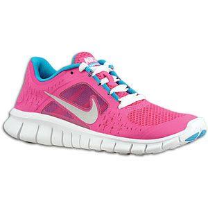 Catégorie École De Filles Nike Free Run 3 Chaussures De Course