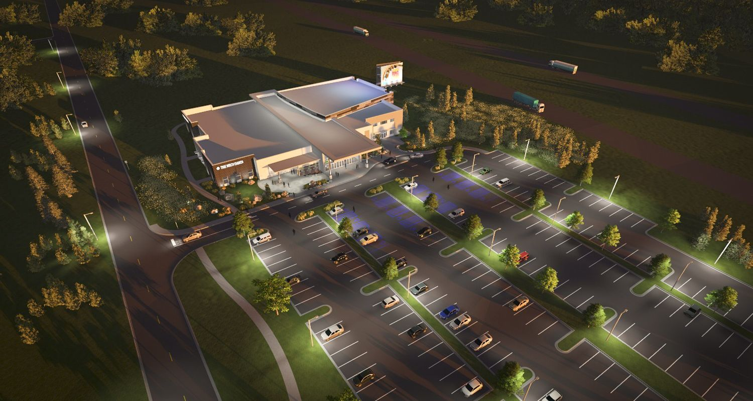 Campus Masterplan For True North Church Sewell NJ Design And Rendering By