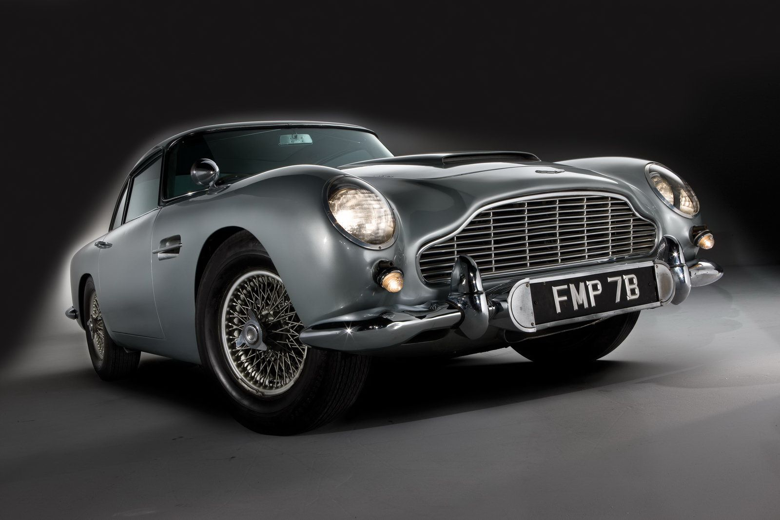 The Top Ten Baddest Movie Cars  Aston martin db5 Skyfall and