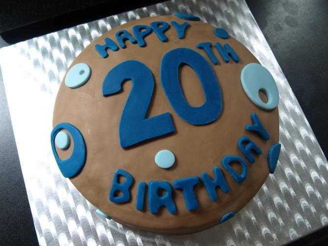 20th Birthday Wishes Son Quotes For Boyfriend 20 Cake