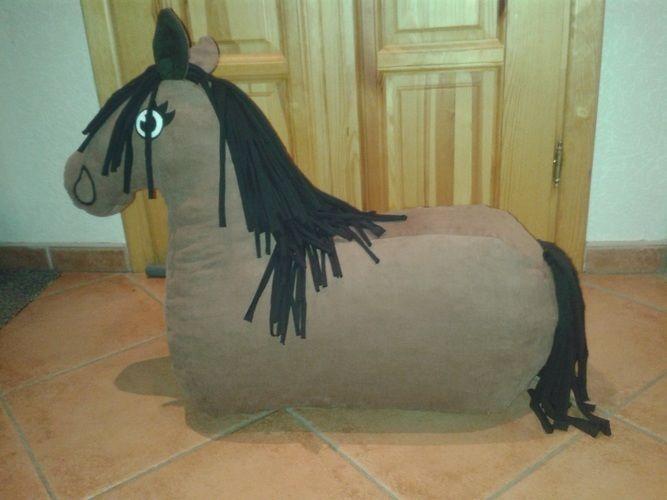 Makerist - Reittier Pferd nach dem Schnittmuster von Frau Schreiner ...