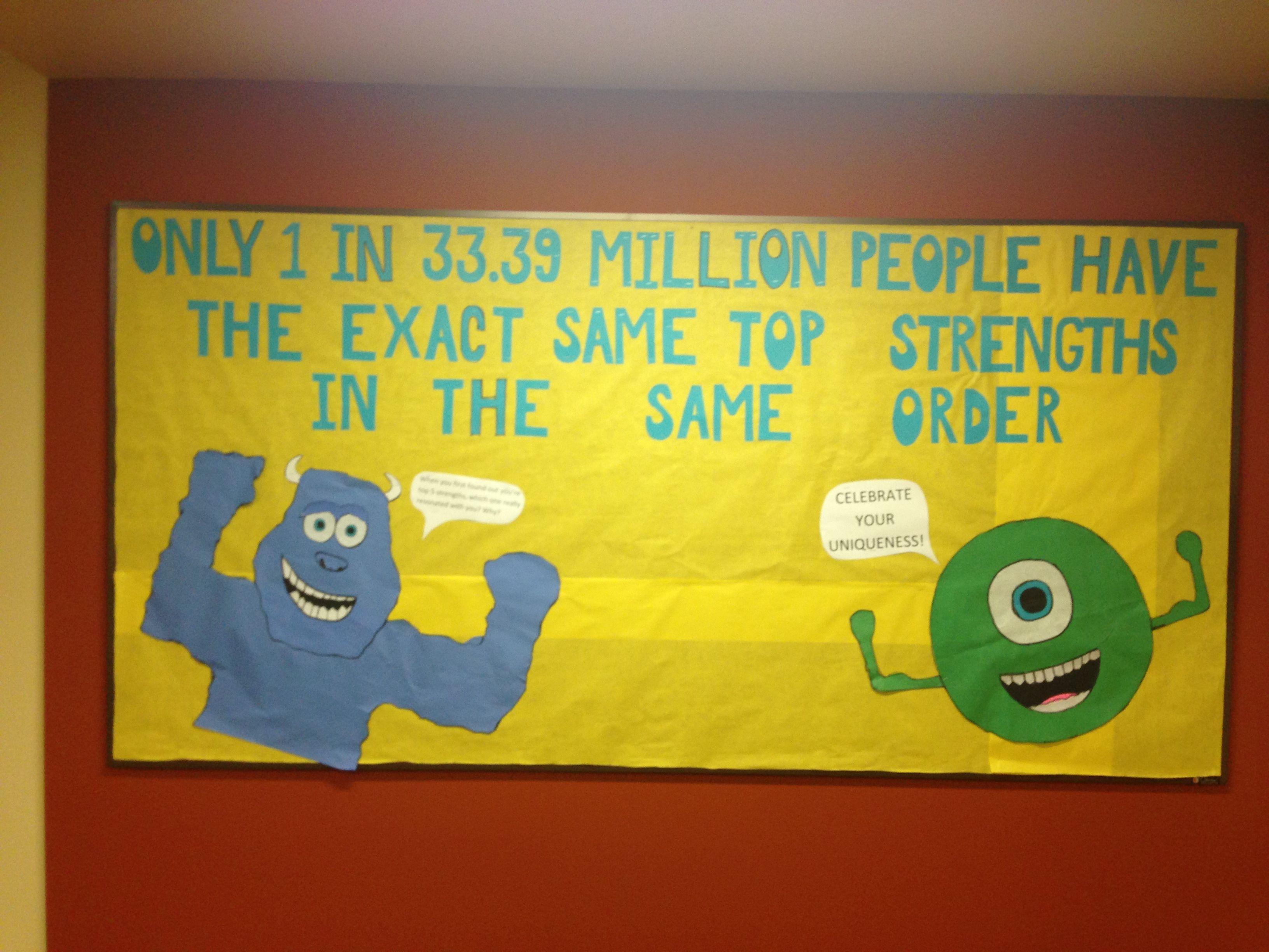 Monsters inc strengths billboard | RA | Pinterest | Billboard and ...