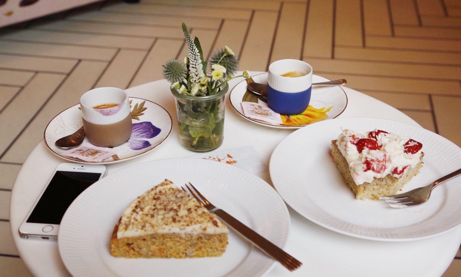 Royal Smushi Cafe x Charity Bakery