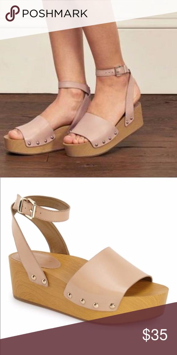 a4a00b7d6 EUC Sam Edelman Brynn Sandal 7.5 - Has very minimal wear. Please see all  photos. - Beautiful Blush pink nude color - A chunky wood-like platform  sandal ...