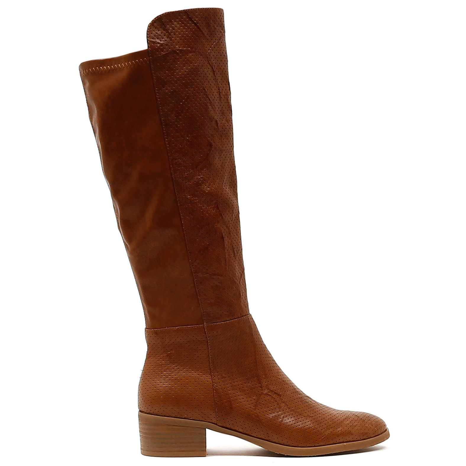 TIPTON by Django and Juliette. Classic, chic and tricked up with the trend  of. Leather Knee High BootsTan ...