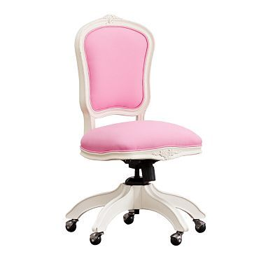 Ooh La La Swivel Chair With Images Pink Desk Chair Swivel