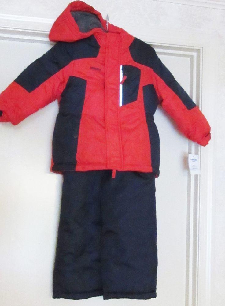 Oshkosh B Gosh Boy S Snowsuit 2 Pieces Nwt 100 Coat Hood