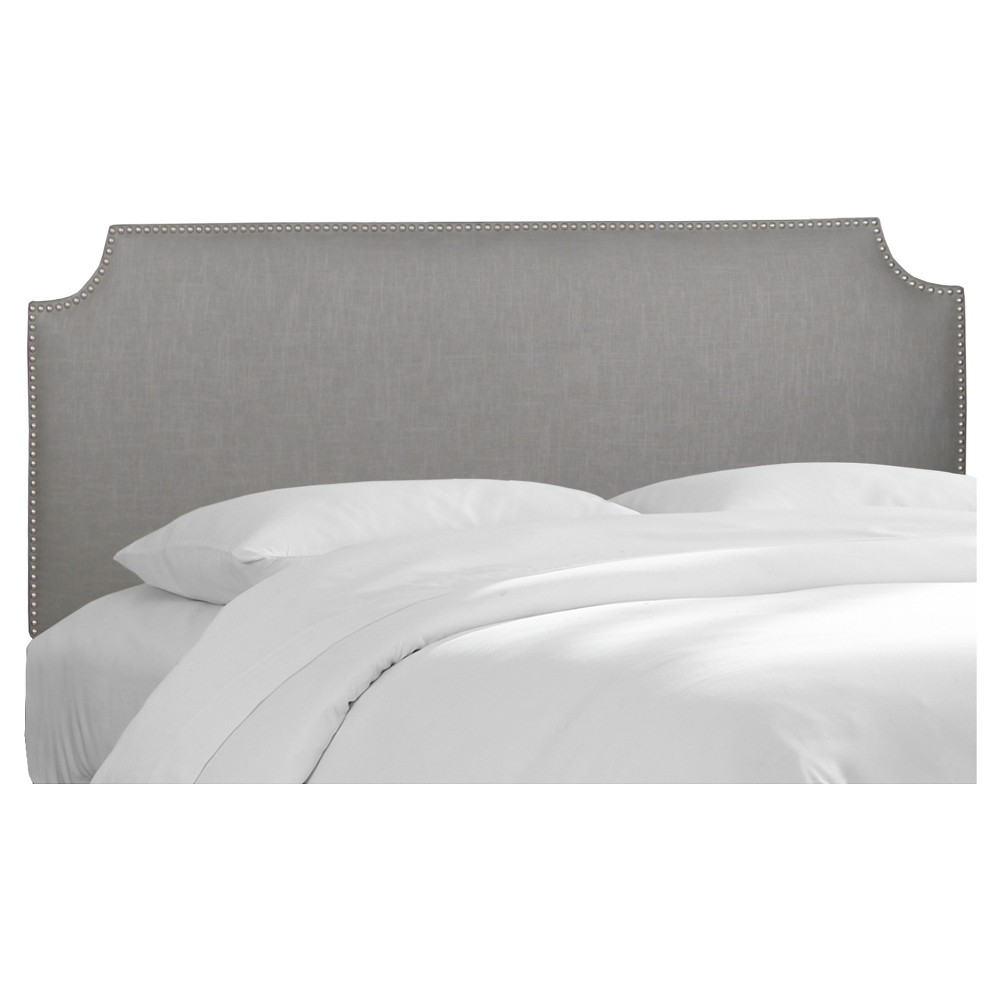 Best Skyline Notched Nail Button Headboard California King 400 x 300