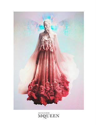 Ad Campaign: Alexander McQueen S/S 2012: Zuzanna Bijoch by David Sims