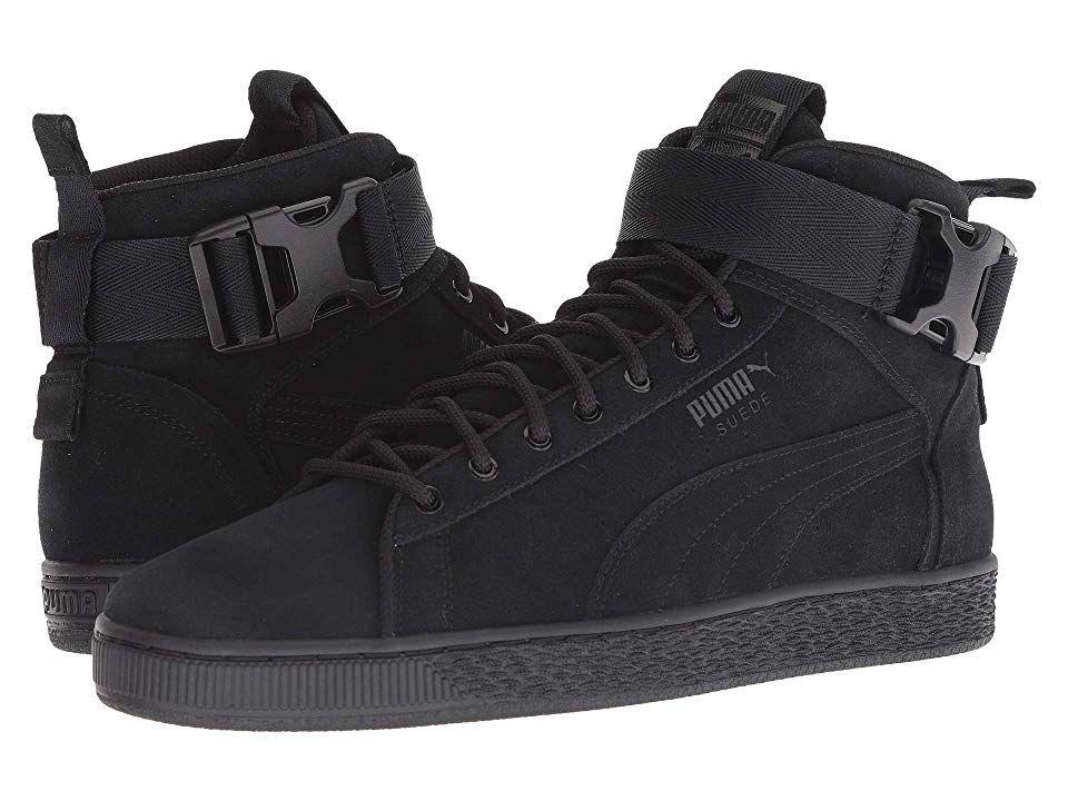 f7f90bde0412 PUMA Suede Classic Mid Buckle Men s Boots Puma Black Puma Black ...