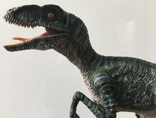 REBOR Velociraptor Pete 1:18 Scale Dinosaur Figurine